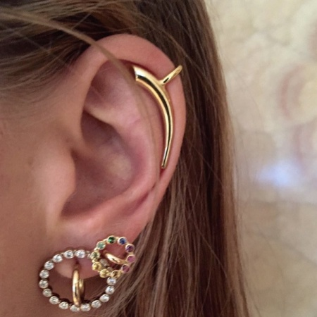 Charlotte Chesnais Hoop Earrings - SavoirFlair.com