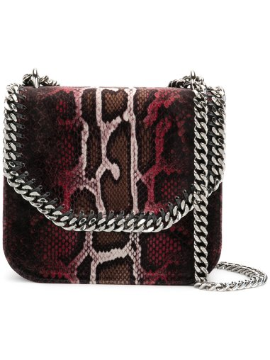 Stella McCartney Faux Snakeskin Shoulder Bag - Farfetch