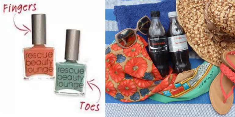 #toeandnailpolishpairings