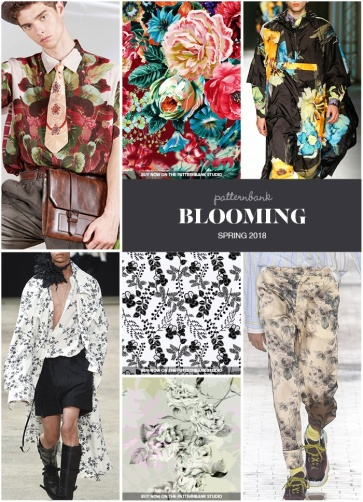 Spring 2018 Key print Patternbank Studio - Images via Vogue.com
