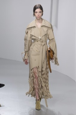 The fringe trench from Loewe's Spring 2018 Collection/Vogue