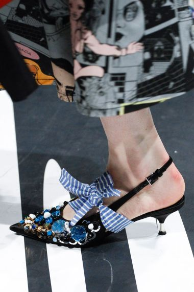 Prada's Kitten Heels/Vogue