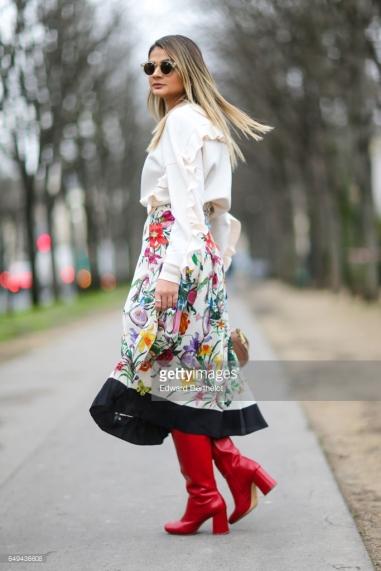 Street Style: Day Eight Paris Fashion Week - Pinterest