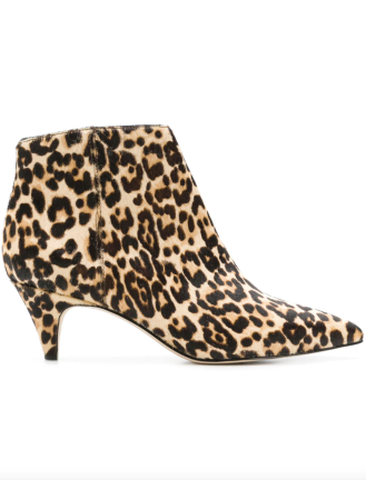 Calf-hair Heel Booties, Sam Edelman, $160