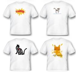 4CatT-shirts