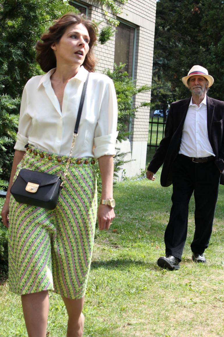 #MarcJacobsSkirt #Longchampbag